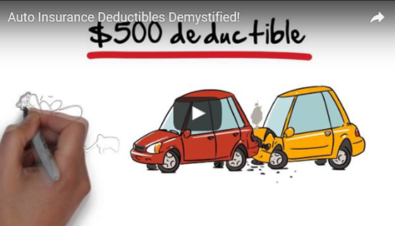 Auto Insurance Deductibles demystified - video screenshot