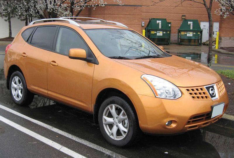 Orange color Nissan Murano