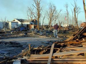Natural disaster struck neighborhood