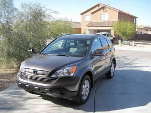 Honda CR-V parked on a driveway