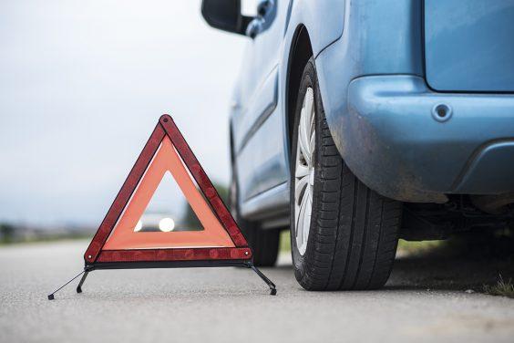 roadside assistance sign